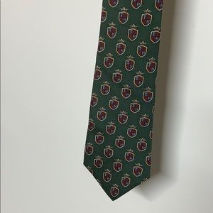 2 for $10 Green and red Tommy Hilfiger tie